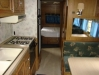Inside Kitchen Moyers Grove Rental Trailer 2